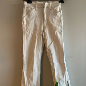 UNIQLO U white denim jeans - size 24